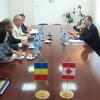 Ambasadorul Canadei, Excelenţa Sa domnul Philippe Beaulne în vizită la Camera de Comerţ şi Industrie Cluj