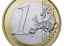 Euro a coborât sub pragul de 1,27 dolari pentru prima dată în ultimele 14 luni