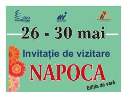 NAPOCA – Târgul de bunuri pentru clujeni, 26 – 30 mai, la EXPO Transilvania
