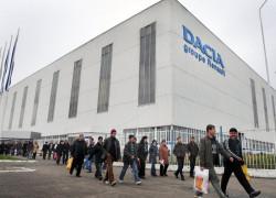 Producţia anuală a Dacia este estimată la 550.000 de unităţi în 2015, faţă de 450.000 în acest an
