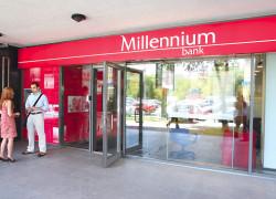 Millennium Bank România şi-a redus pierderile cu 23% în primul semestru, la 10,1 milioane euro