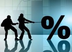 Băncile se bat pe economiile firmelor. Dobânzi de peste 4% la depozitele în euro