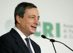 Draghi (BCE):Riscurile care pot influenţa perspectivele zonei euro au crescut