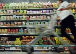 Preţurile alimentelor au crescut uşor, iar inflaţia a scăzut la minimul ultimilor 5 ani