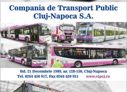 CTP Cluj-Napoca, servicii de calitate în slujba comunității