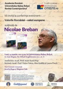 Nicolae BREBAN 14 03 2016 UBB