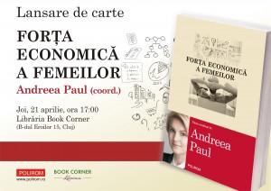 Lansare carete Andreea Paul Vass