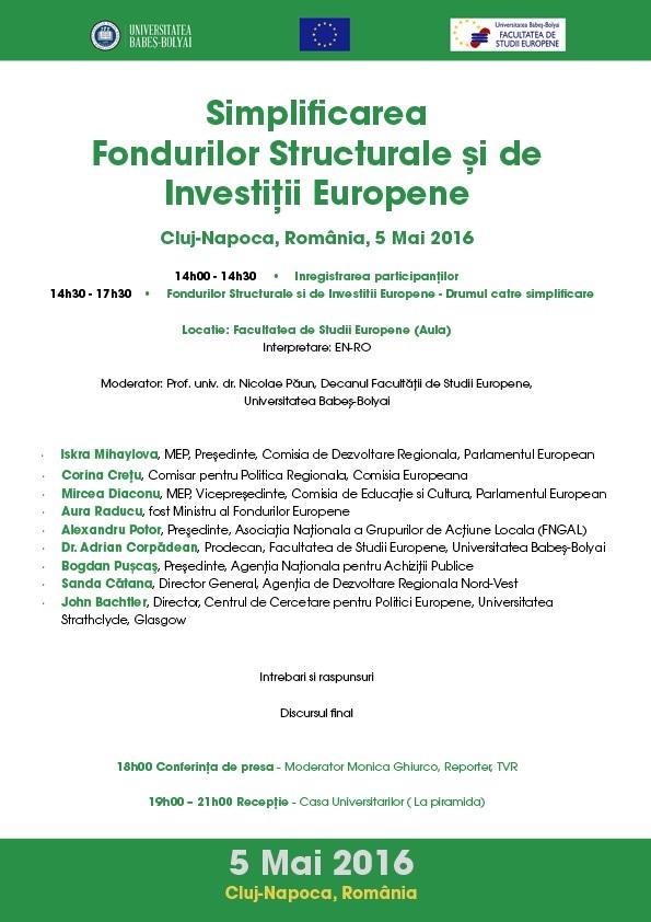 Seminar fonduri EU